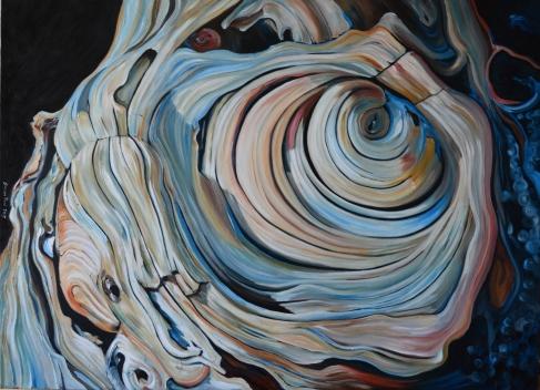 Vortice olio su tela 80 x 110 2015