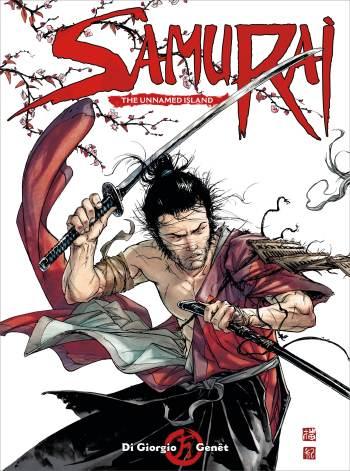 Samurai Comic_1_CoverA_Frédéric Genét