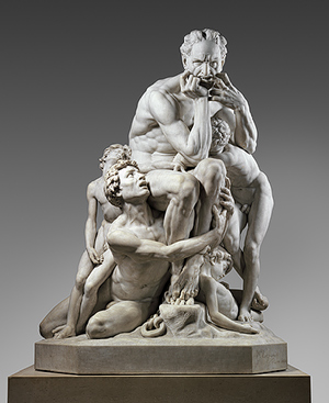Working Title/Artist: Ugolino and His SonsDepartment: ESDACulture/Period/Location: HB/TOA Date Code: Working Date: ca. 1860-61, executed in marble 1865-67 photography by mma, Digital File DP247545.tif retouched by film and media (jnc) 4_21_11