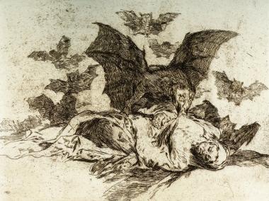 Francisco Goya, Las resultas, 1810-1814 (es. del 1906), Acquaforte, Collezione privata