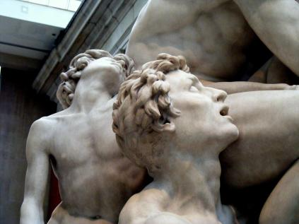 Jean-Baptiste Carpeaux. Ugolino and His Sons, detail of sons