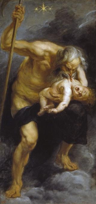 Rubens Saturno che divora suo figlio 1636