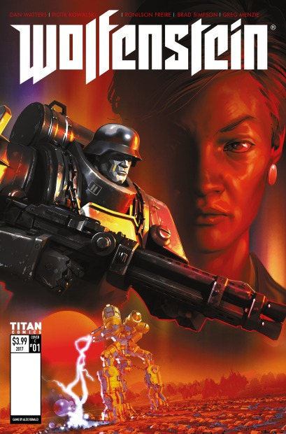 Wolfenstein Cover C
