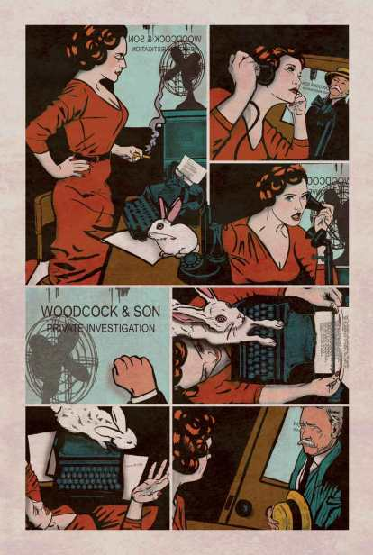 Minky Woodcock Issue #1 Page 2